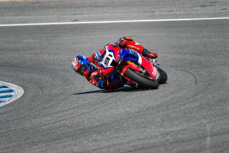 SBK 2021. Due giorni di test a Jerez per Lowes e Honda HRC