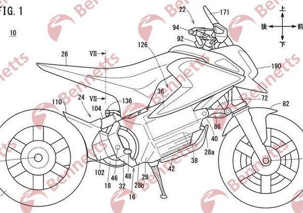 Honda deposita i brevetti per un Grom elettrico