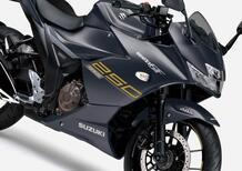 Suzuki Gixxer SF 250, nuove colorazioni per il Giappone