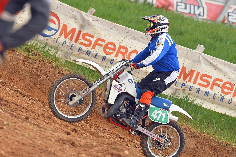 Max Giusti e la passione per il Motocross: Di notte sognavo la mia KTM 250 del 1985 [GALLERY]