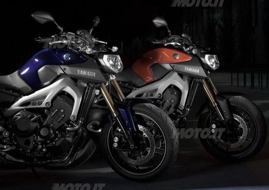 Yamaha: ecco la MT-09 a tre cilindri