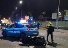 Verona. Fuggono in moto dalla Polizia. Arrestati dopo lo scontro