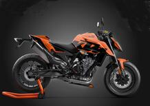 KTM 890 Duke Black Tech3 Limited Edition. Aria di MotoGP
