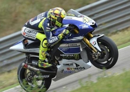 Test MotoGP ad Aragon. Lorenzo il più veloce, Rossi soddisfatto
