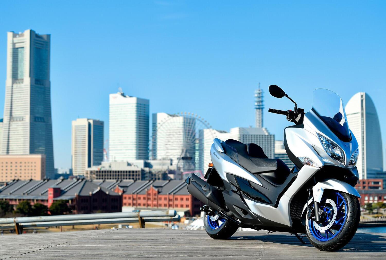 Suzuki Burgman 400: prenotazioni aperte e poi 99 euro al mese