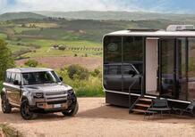 Land Rover Defender Eco Home, in viaggio (ecosostenibile) tra le bellezze d'Italia