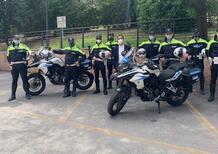 Falconara, dopo vent'anni tornano gli agenti in moto. Sulle TRK 502