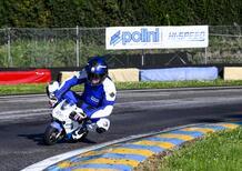 È record: Valerio Boni percorre 751 km in 24 ore su una minimoto