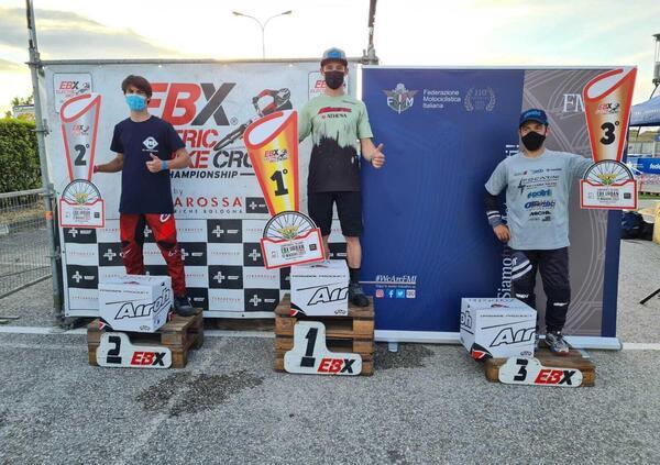 EBX Urban, Roberto Fabbri domina a Misano