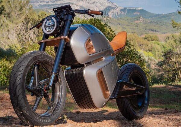 Nawa Racer, moto elettrica a supercondensatore