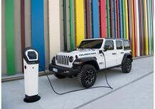 L'icona Jeep diventa ibrida, Con 380CV e 50 Km EV: ecco Wrangler 4xe in Italia [da 59 a 72K]