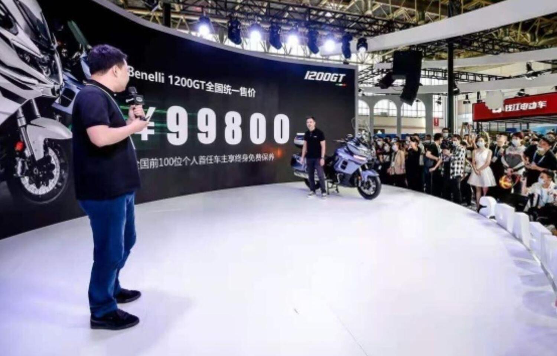 Benelli ha presentato a Pechino tre novità da 600 a 1.200