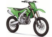 Kawasaki KX250 e KX450. Ecco le versioni 2022