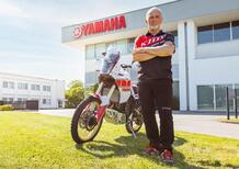 Franco Picco con la Yamaha Ténéré 700 alla Gibraltar Race