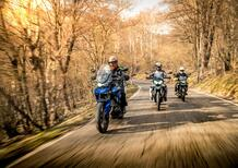 Maxienduro 1000 2021 TEST: BMW F750GS vs Moto Guzzi V85TT vs Triumph Tiger 850 Sport!