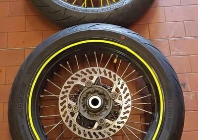 coppia cerchi completi per husqvarna 510 motard - Annuncio 8390152