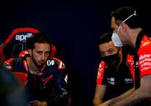 """MotoGP. Massimo Rivola, AD Aprilia: """"A breve la soluzione sui piloti per il 2022. Andrea Dovizioso è tra le possibili scelte"""""""