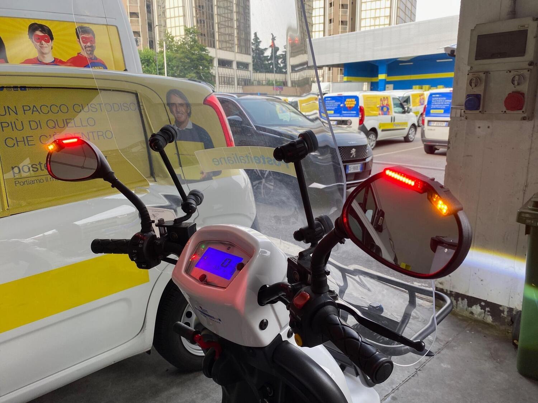 Poste Italiane stringe un accordo con Ride Vision per una maggiore sicurezza dei postini in scooter