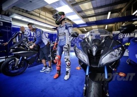 Yamaha Race Blu per le stradali 2014
