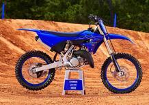 Yamaha Cross 2022. In evidenza la nuova YZ125 e la YZ250