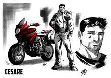Le moto di MV Agusta protagoniste di un fumetto