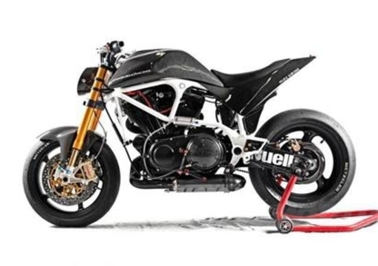 le strane di moto.it: buell lightning s1 franz garage - news - moto.it