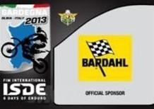 Bardahl Official Sponsor FIM ISDE 2013