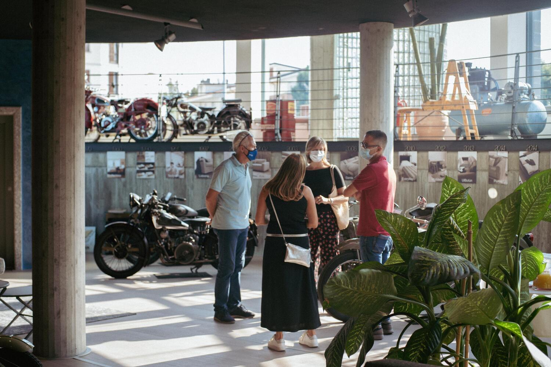 Salone del Mobile. In mostra moto d'epoca tra design e made in Italy