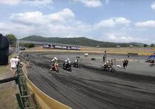 Sand Storm. Lo spettacolo delle Harley-Davidson sull'ovale di terra!