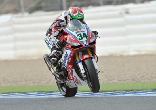 Giugliano è ancora il più veloce nelle qualifiche SBK di Jerez
