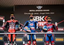 SBK 2021. GP di Spagna a Jerez: Toprak l'invincibile. Redding tiene il suo passo, Rea no [VIDEO]
