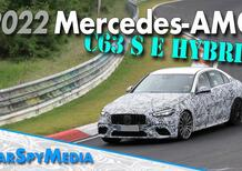 Come suona la nuova Mercedes C63 S AMG E Hybrid Performance [Video Nurburgring]