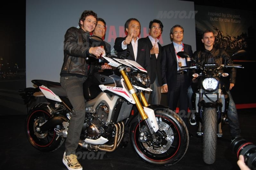 eicma 2013 yamaha mt 09 street rally news. Black Bedroom Furniture Sets. Home Design Ideas