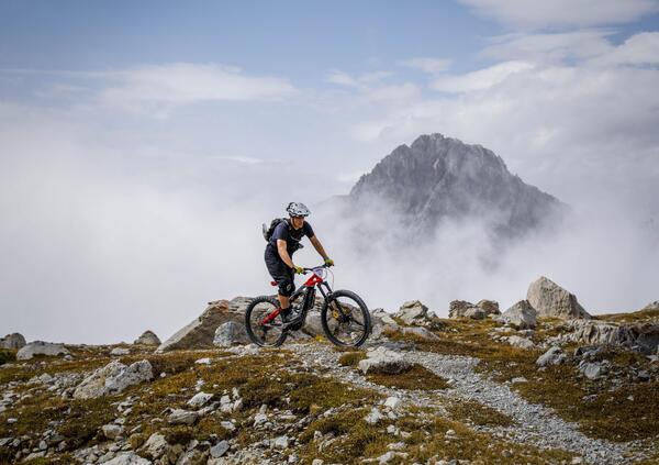 Thok Tribe 2021. Passione eBike in vetta alle Alpi