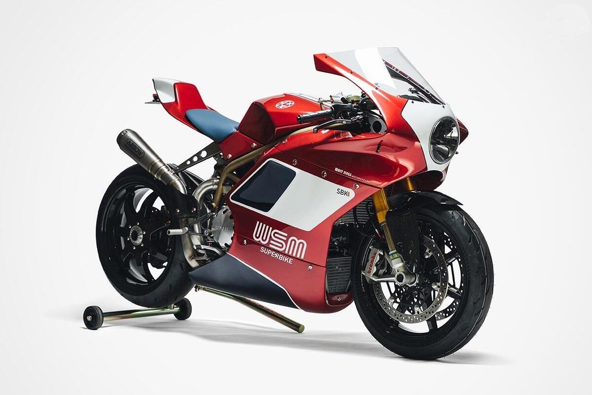 Ducati WSM SBK. La superbike di Walt Siegl - News - Moto.it