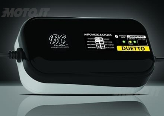 EICMA 2013: Battery Controller Duetto