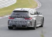 BMW M3 Touring, maxi doppio rene o no? Le foto spia