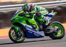 Kawasaki, la Superbike e la sua storia in due livree