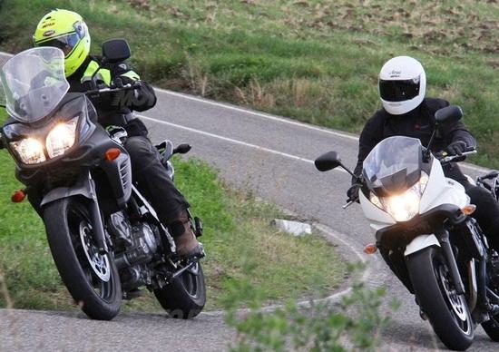 Suzuki V-Strom vs Bandit S