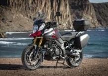 Suzuki V-Strom 1000 ABS. Disponibile ora la gamma accessori