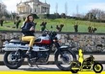 8 marzo sui Colli Berici con la Triumph Scrambler