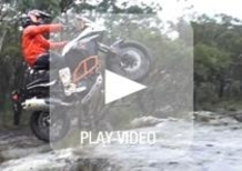 KTM 1190R Adventure, guardate un po' come la guida Chris Birch