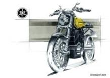 Yamaha Sketching, un progetto su base XV950