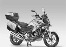 Honda presenta la versione Travel Edition della NC750X e della NC750X DCT