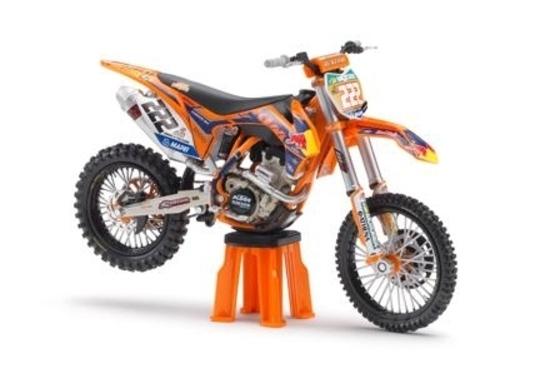 KTM: i modellini delle moto dei campioni