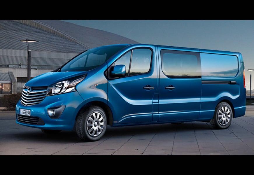 Opel Vivaro Furgone (2)