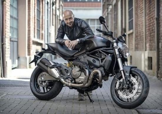 Joe Bastianich ritira la sua Ducati Monster 821