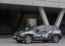 Mercedes GLC F-Cell: oltre l'idrogeno anche a batteria