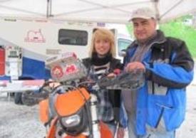 Valentina Spoletini e il papà Cristian