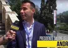 """Parco Valentino, Levy: """"Salone dell'auto nasce per rimettere desiderio"""" [Video]"""